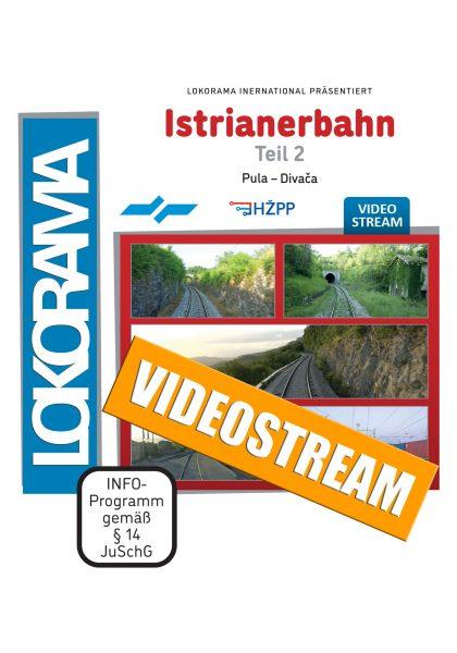 Istrianerbahn Teil2 Pula – Divača  | Streamingvideo