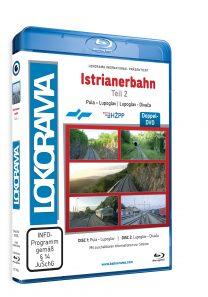 Istrianerbahn Teil 2 Pula – Divača | Blu-ray