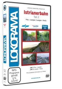 Istrianerbahn Teil 2 Pula – Divača | DVD