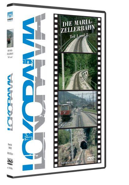 09223 Mariazellerbahn LR 3D rot 420x600 - Mariazellerbahn 1991 Teil 1+2 | DVD
