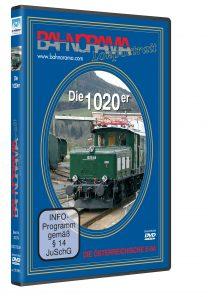 1020er DVD 208x297 - ÖBB Rh 1020 – Die österreichische E94 | DVD