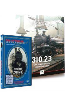 11013 310 Buch und DVD Package 208x297 - 310.23 Dampflokportrait | DVD + Buch
