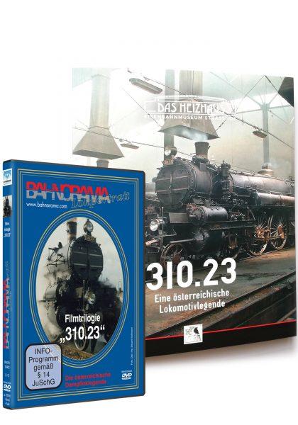 11013 310 Buch und DVD Package 420x600 - 310.23 Dampflokportrait | DVD + Buch