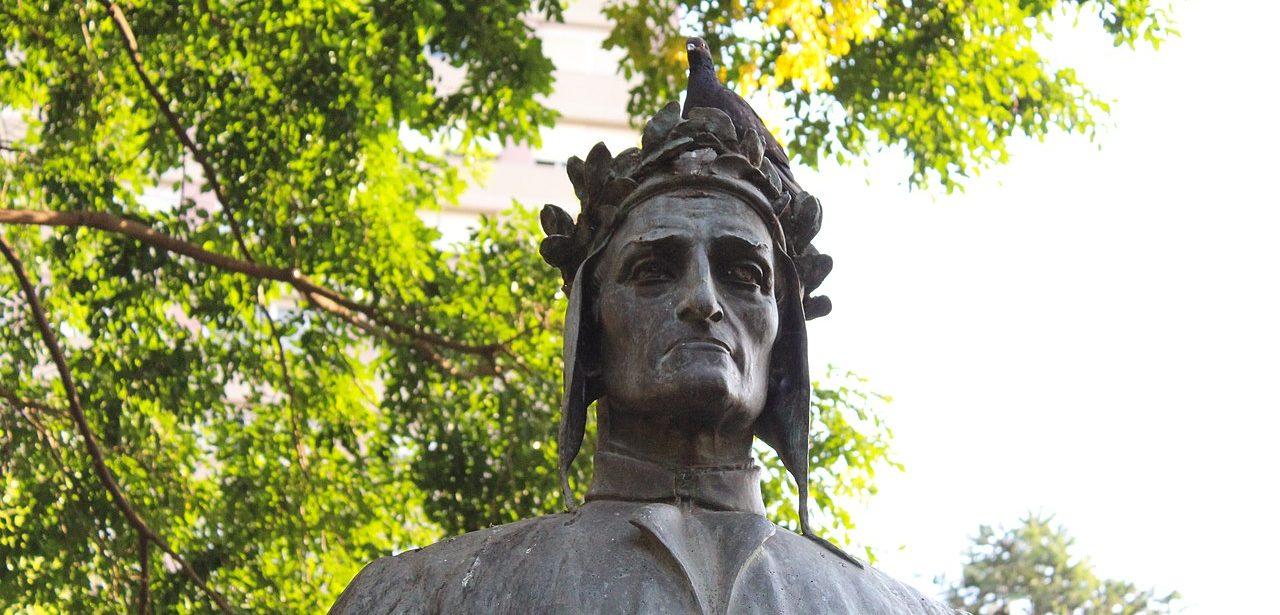 1280px Busto de Dante Alighieri   parcial 1280x615 - Der Todestag von Dante Alighieri jährt sich zum 700sten Mal
