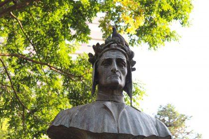 1280px Busto de Dante Alighieri   parcial 420x280 - Der Todestag von Dante Alighieri jährt sich zum 700sten Mal