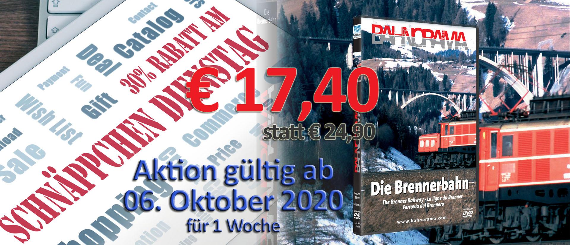 2020 10 06_schnäppchen dienstag Brennerbahn