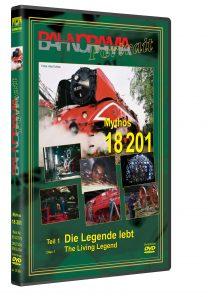 "22779 3D ROT 208x297 - DB Rh 18 201 Teil 1 ""Die Legende lebt"" | DVD"