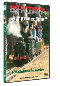23059 gruene spur 3D ROT 208x297 - Auf grüner Spur – Eisenbahnen im Garten | DVD