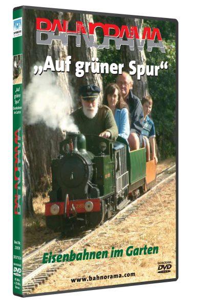 Auf grüner Spur – Eisenbahnen im Garten | DVD