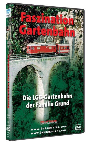 Faszination Gartenbahn – Die LGB-Anlage der Familie Grund | DVD