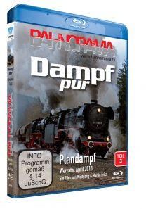 25585 Dampf pur Plandampf Teil3 Blu ray 208x297 - Dampf pur - Plandampf 3 | Blu-ray