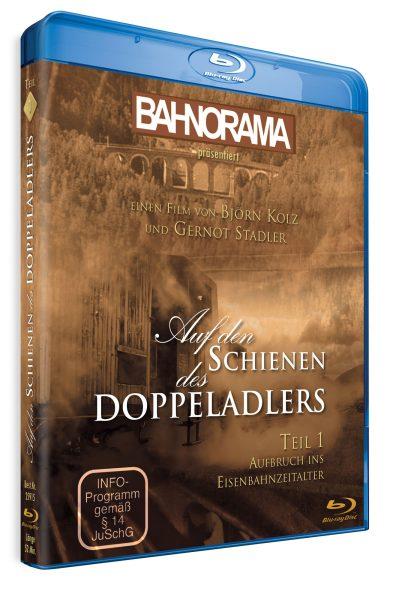 Auf den Schienen des Doppeladlers Teil 1 – Aufbruch ins Eisenbahnzeitalter | Blu-ray