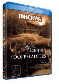 Auf den Schienen des Doppeladlers Teil 2 – Die Eisenbahn im Ersten Weltkrieg | Blu-ray
