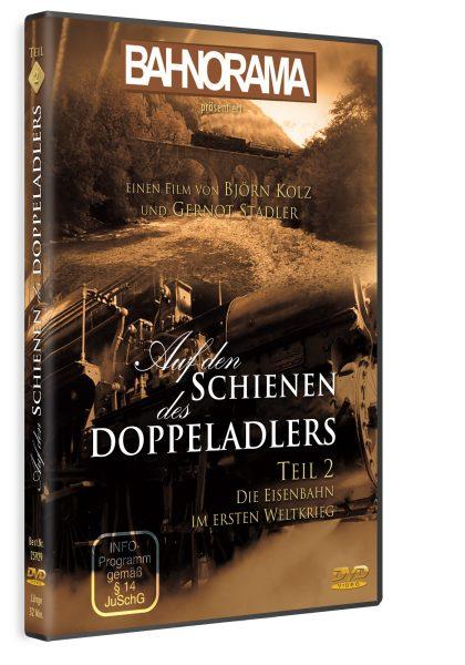 Auf den Schienen des Doppeladlers Teil 2 – Die Eisenbahn im Ersten Weltkrieg   DVD