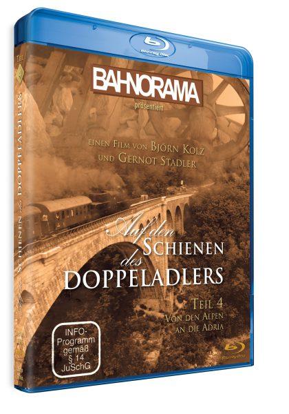 Auf den Schienen des Doppeladlers Teil 4 – Von den Alpen an die Adria | Blu-ray