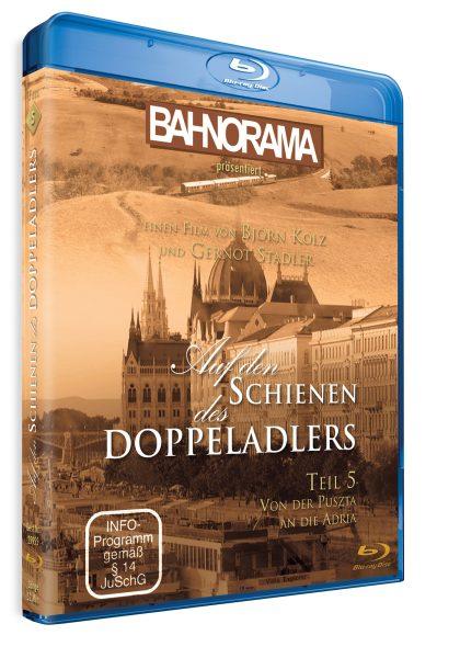 Auf den Schienen des Doppeladlers Teil 5- Von der Puszta an die Adria | Blu-ray