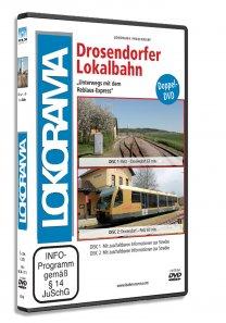 3D Cover Drosendorfer Lokalbahn 5039 weiß 208x297 - Drosendorfer Lokalbahn | DVD