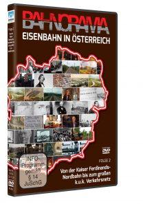 Eisenbahn in Österreich Folge 2 der Edition 175 Jahre Eisenbahn i. Österreich | DVD