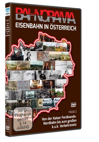 Eisenbahn in Österreich Folge 2 der Edition 175 Jahre Eisenbahn i. Österreich   DVD