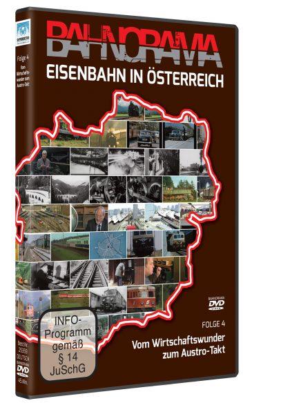 Eisenbahn in Österreich Folge 4 der Edtition 175 Jahre Eisenbahn i. Österreich | DVD