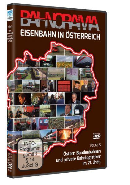 Eisenbahn in Österreich Folge 5 der Edition 175 Jahre Eisenbahn i. Österreich | DVD