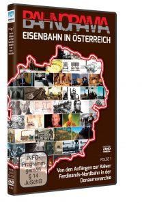 Eisenbahn in Österreich Folge 1 der Edition 175 Jahre Eisenbahn i. Österreich | DVD