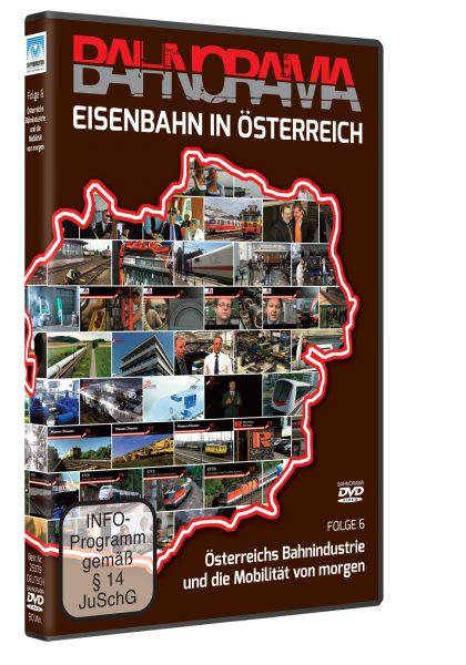 Eisenbahn in Österreich Folge 6 |  DVD