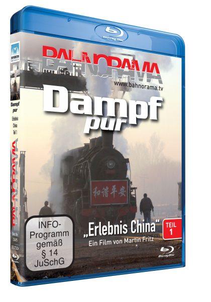 "Dampf pur ""Erlebnis China"" Teil 1 | Blu-ray"