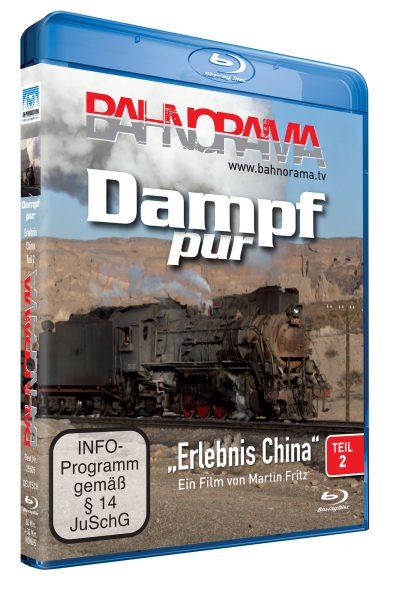 "Dampf pur ""Erlebnis China"" Teil 2 | Blu-ray"