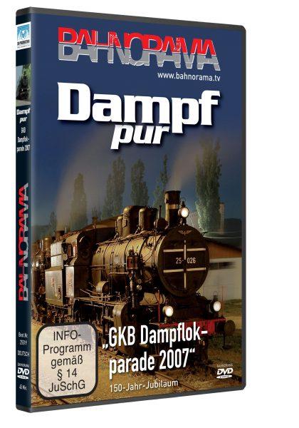 "Dampf pur ""GKB Dampflokfest 2007"" | DVD"