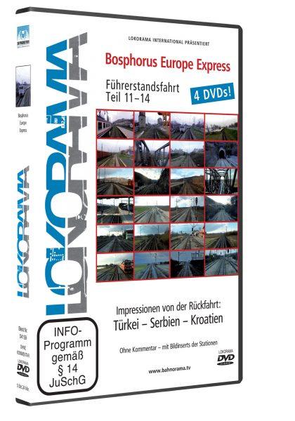 Bosphorus Europe Express – Impressionen von der Rückfahrt | DVD