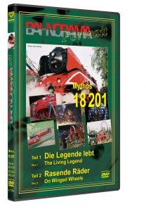 "3D Mythos18201 HGrot 208x297 - DB Rh 18. 201 Teil 1+ 2 ""Die Legende lebt"" + ""Rasende Räder"" | DVD"