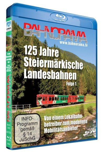 125 Jahre Steiermärkische Landesbahnen, Folge 1 | Blu-ray