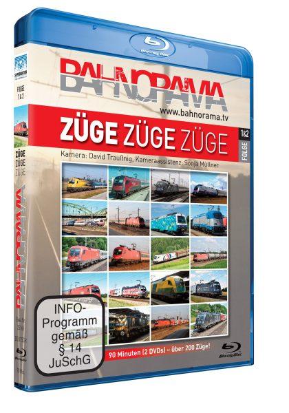 Züge, Züge, Züge… Folge 1+2   Blu-ray