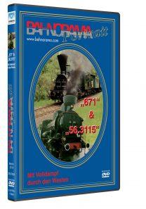 GKB: Südbahnlok 671 + GKB 56.3115 | DVD