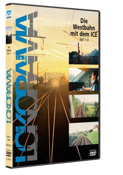 Westbahn Innsbruck-Wien mit dem ICE | DVD