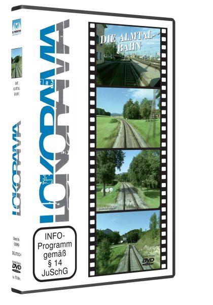 Almtalbahn 3D rot 420x600 - Almtalbahn | DVD