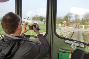 Am Filmen auf der CJ bci Strecke 2 1 375x250 - Der Blick vom Führerstand als besondere Leidenschaft