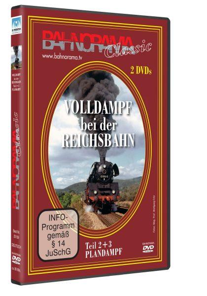 Volldampf bei der Reichsbahn, Plandampf Teil 2+3 | DVD