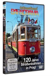 120 Jahre Straßenbahnen in Prag | DVD