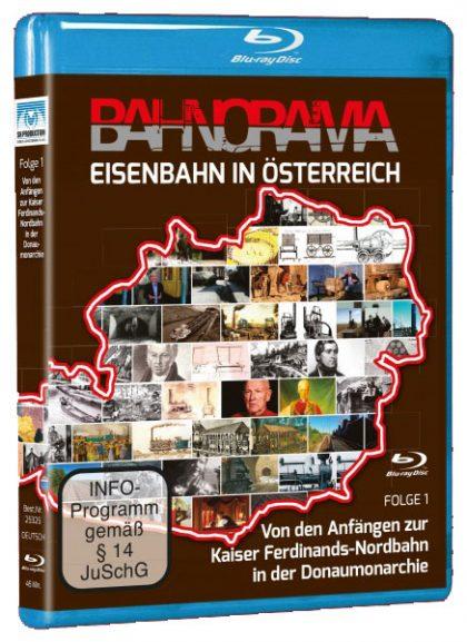 Eisenbahn in Österreich Folge 1 der Edition 175 Jahre Eisenbahn i. Österreich | Blu-ray