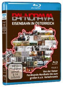 Eisenbahn in Österreich Folge 2 der Edition 175 Jahre Eisenbahn i. Österreich | Blu-ray