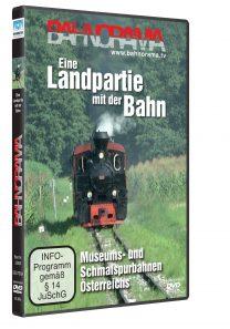 BR Landpartie mit der Bahn 3D HGrot 208x297 - Eine Landpartie mit der Bahn | DVD