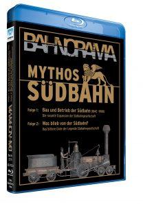 "BR Mythos Suedbahn BR lang HGrot 208x297 - Mythos Südbahn ""Die Eroberung des Südens"" | DVD"