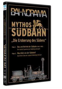"BR Mythos Suedbahn DVD HGrot 208x297 - Mythos Südbahn ""Die Eroberung des Südens"" | DVD"