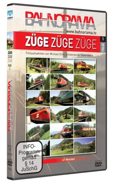 Züge, Züge, Züge… Folge 5 Tauernbahn | DVD