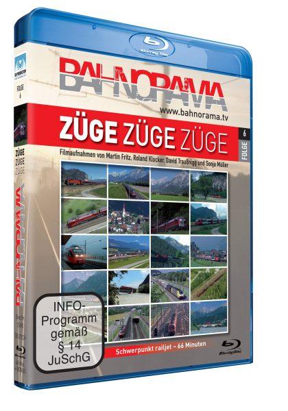 BAHNORAMA Züge Züge Züge Folge 6 railjets | Blu-ray