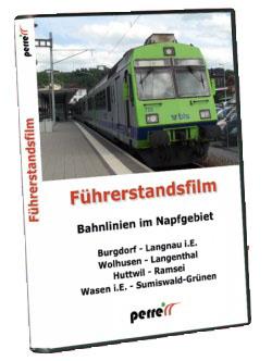 Bahnlinien im Napfgebiet; von Andreas Perren | DVD
