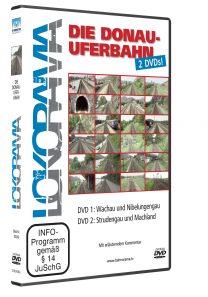 Donauuferbahn Teil 1 + 2 | DVD