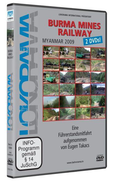BURMA Mines Railway – Myanmar | DVD